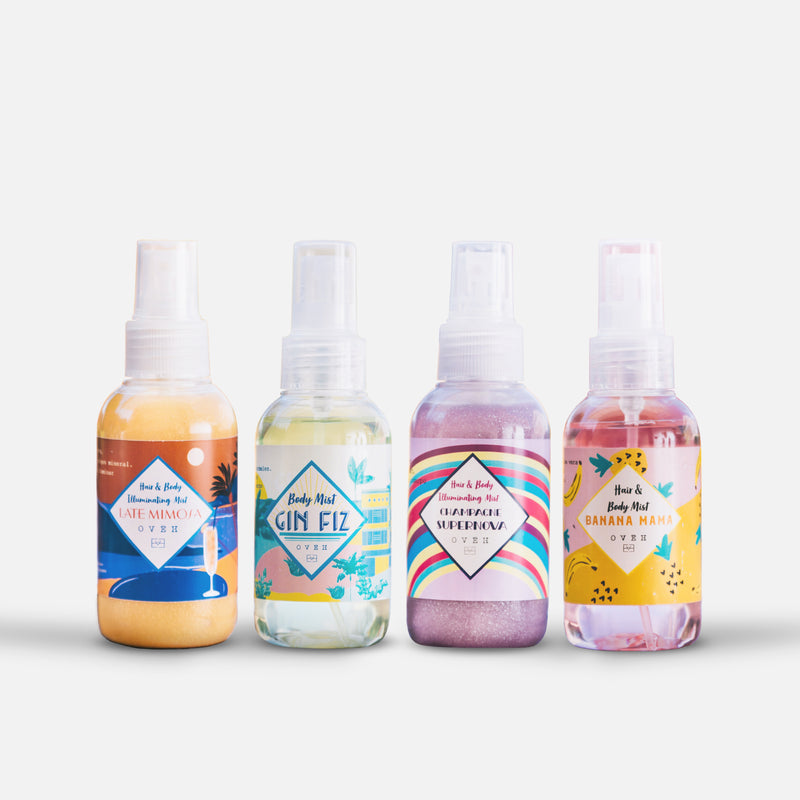 Body Mist Collection Set