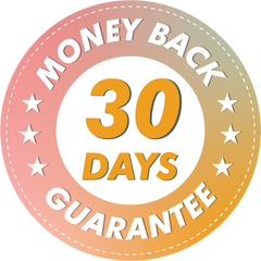 WE GUARANTEE YOUR SATISFACTION, OR YOUR MONEY BACK. To make your decision extremely easy, We are going to remove all risk! Yep, that's right. We want to guarantee you take advantage of this offer today, and feel good about it.  You're protected by our 30 Day money-back guarantee.  If for any reason at all you're not completely satisfied, get in touch with our team and we will give you a complete refund. It's that simple.  -Jennifer and Chris, JOMO Owners
