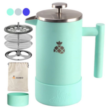 Load image into Gallery viewer, Stainless Steel Coffee French Press