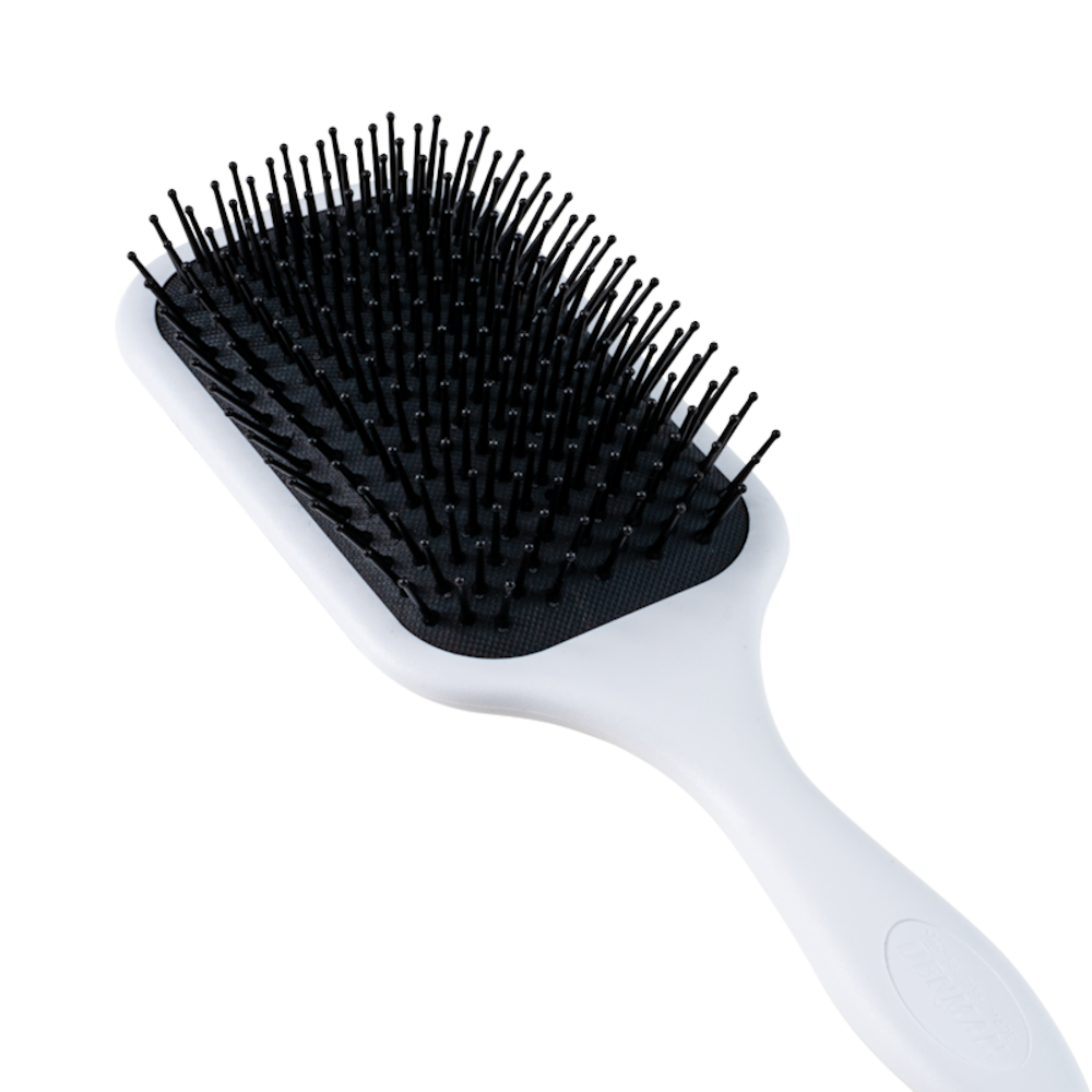 Plaid Stag Paddle Brush - Denman