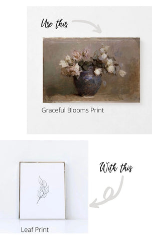 Mix and match prints for a gallery wall