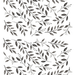 Inked Leaves - Urban Walls Decals