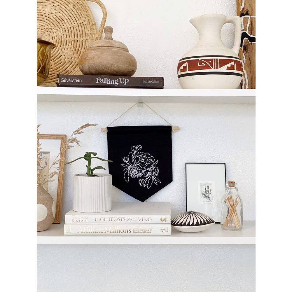Botanical Canvas Wall Hanging
