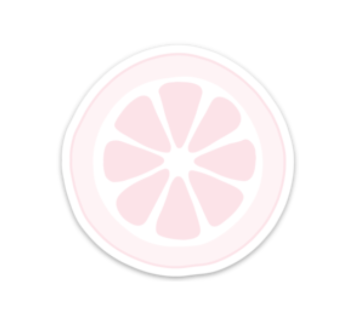 Pink Lemon Sticker