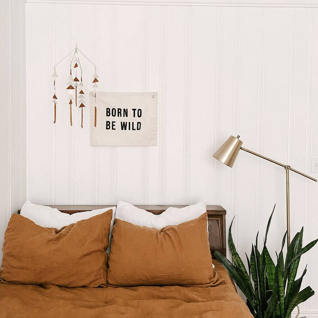 Born To Be Wild Canvas Wall Hanging