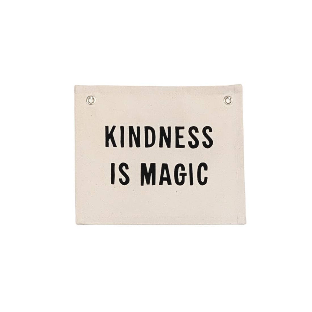 Kindness Is Magic Canvas Wall Hanging