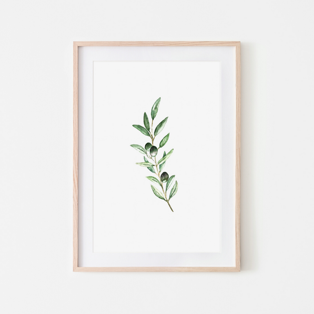 Pink Lemon Decor, Pink Lemon Decor Print, digital prints, digital print, home décor print, home décor prints, Pink Lemon Decor Olive Branch Print, olive branch, olive branch print