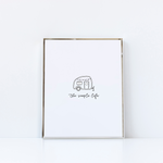 The Simple Life Trailer Print
