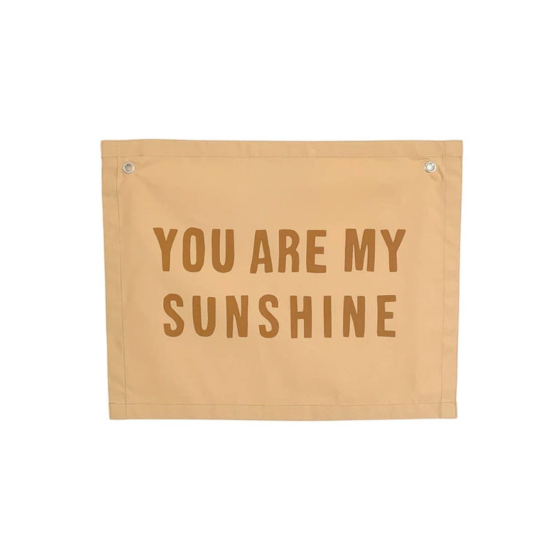 You Are My Sunshine Canvas Wall Hanging