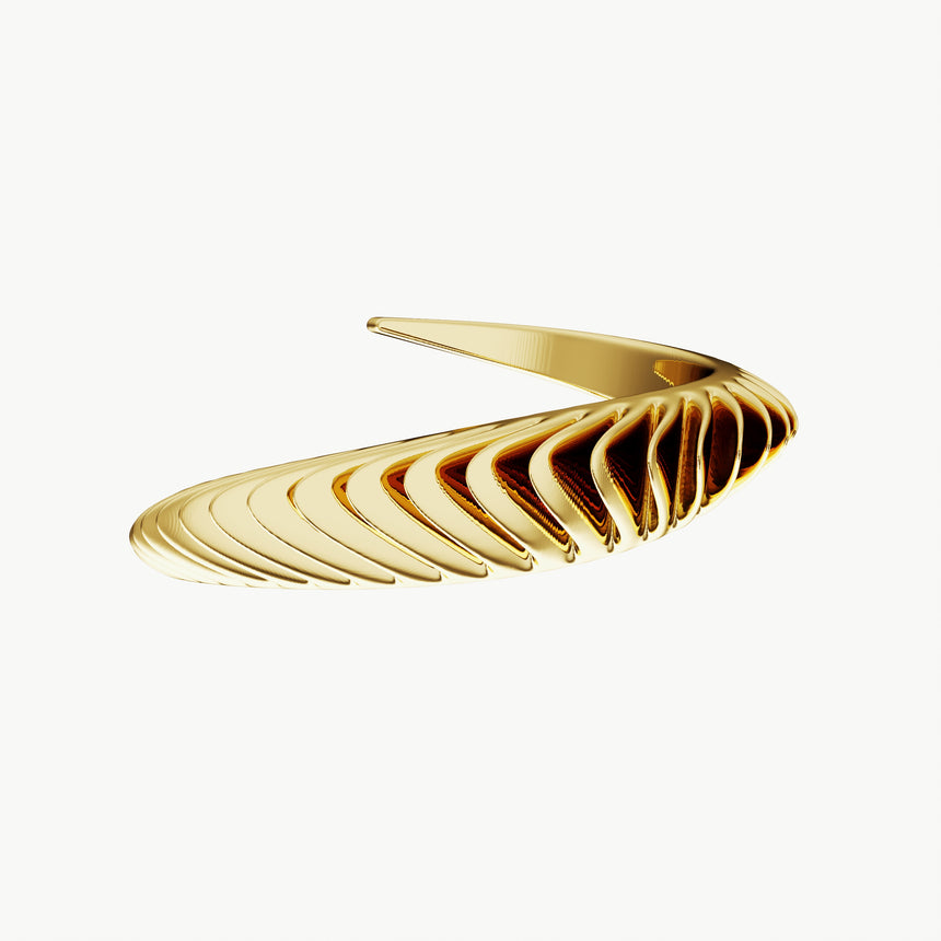 The Thin Shell Cuff Bracelet