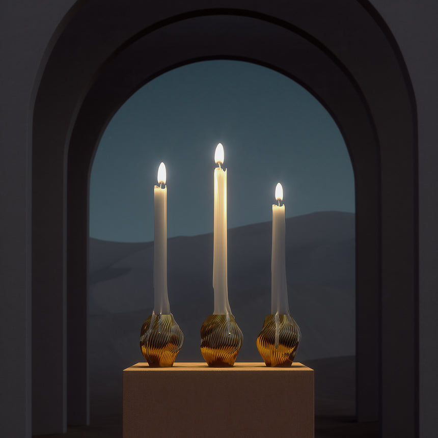 The Flower Candleholder