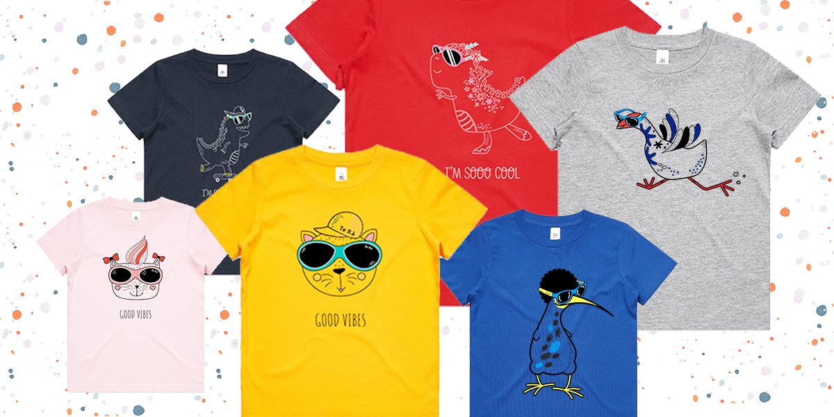 cool kids t-shirts nz - Te Rā