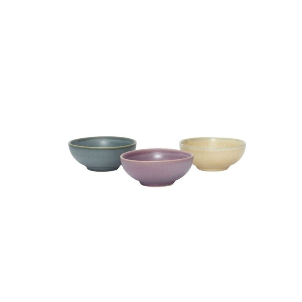 Earth Mini Tapas Bowls, Set of 3