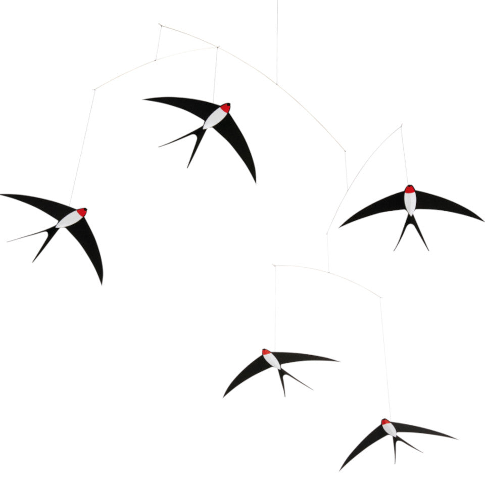 Flensted Five Swallows mobile.