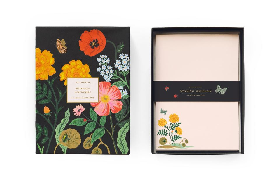 Botanical Stationery Set