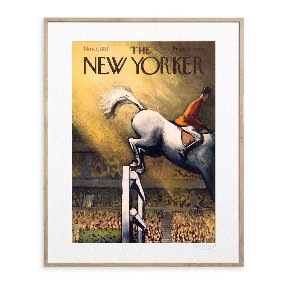 New Yorker - Horse Jumping