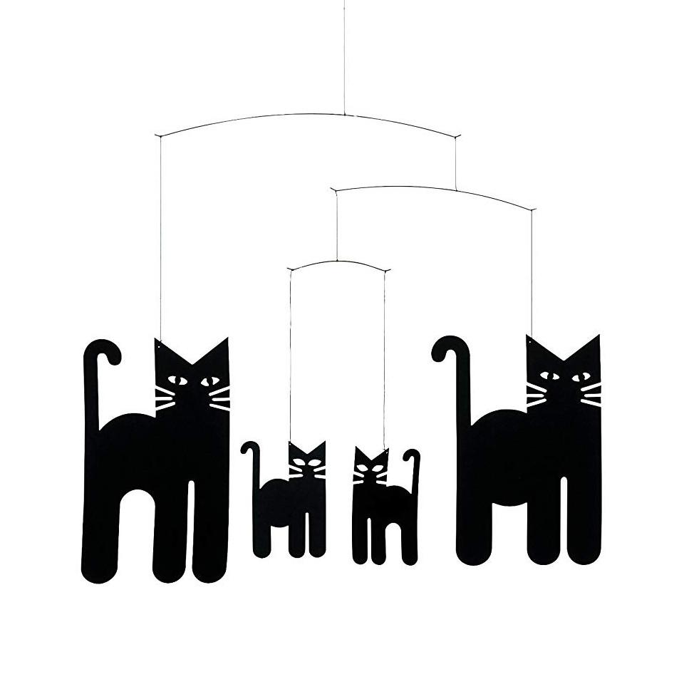 Flensted Cats (black) mobile.