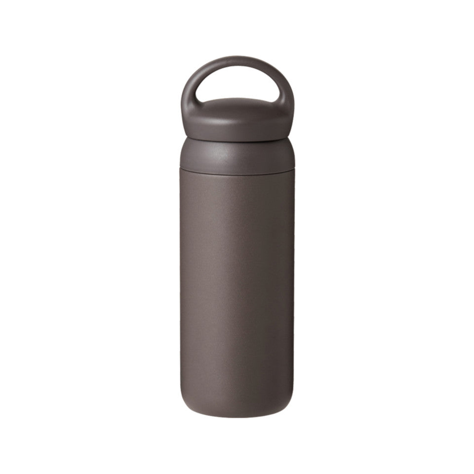 Day Off travel tumbler, dark grey.