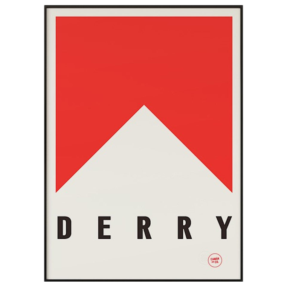 Derry County Series 50 cm x 70 cm print.