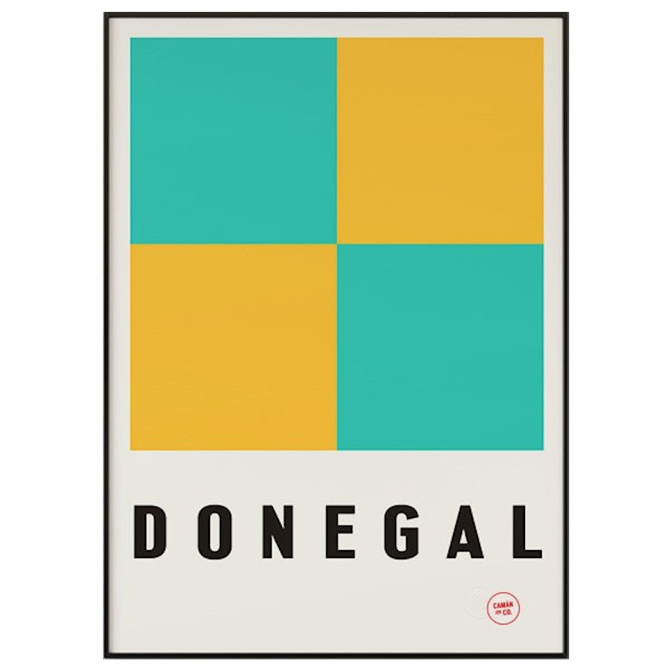 Donegal County Series 50 cm x 70 cm print.