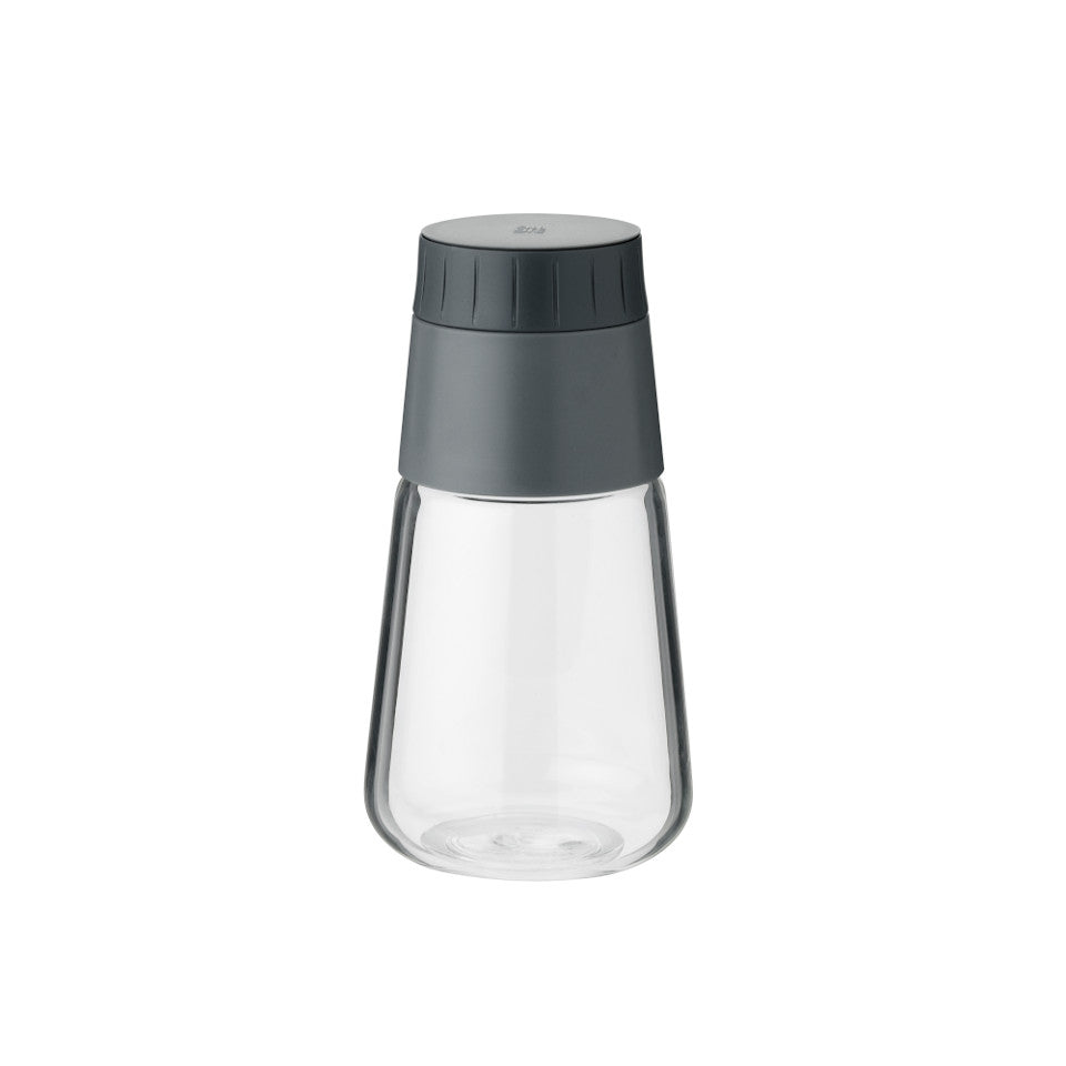 Shake-It by RigTig dressing shaker, glass with twist open pouring cap.