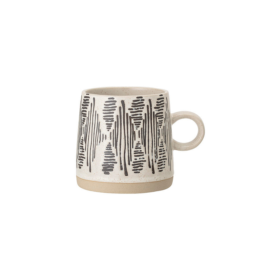 Eliana diamond pattern mug