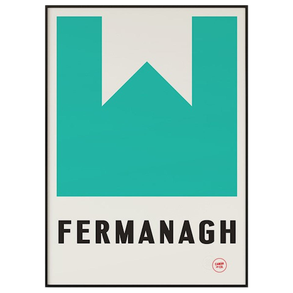 Fermanagh County Series 50 cm x 70 cm print.
