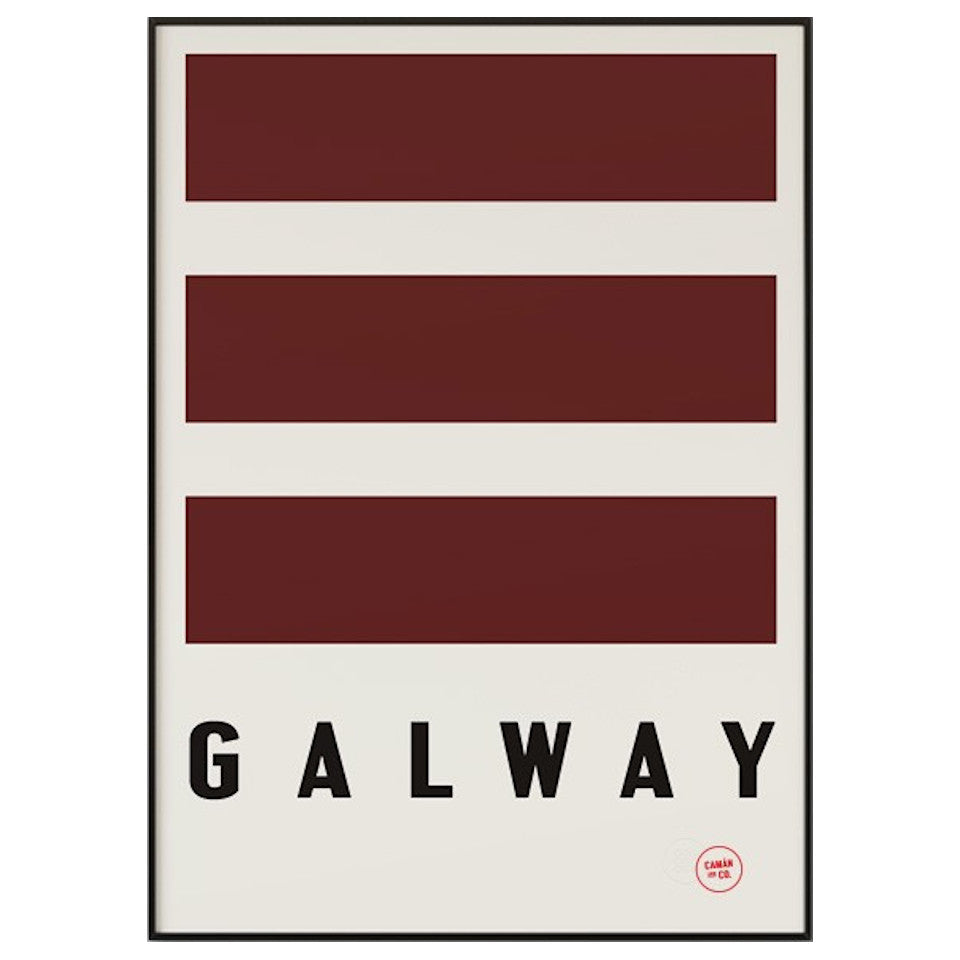 Galway County Series 50 cm x 70 cm print.
