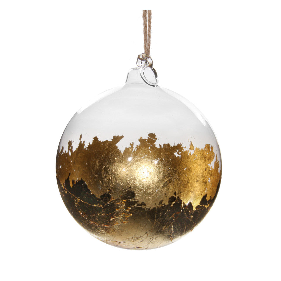 Gold & Glass Ball Tree Decoration