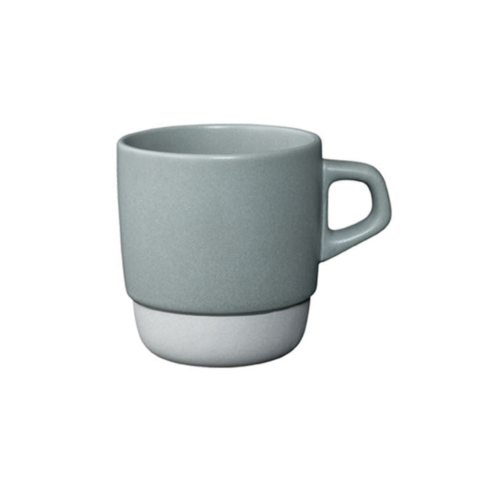 SCS stacking mug, grey.
