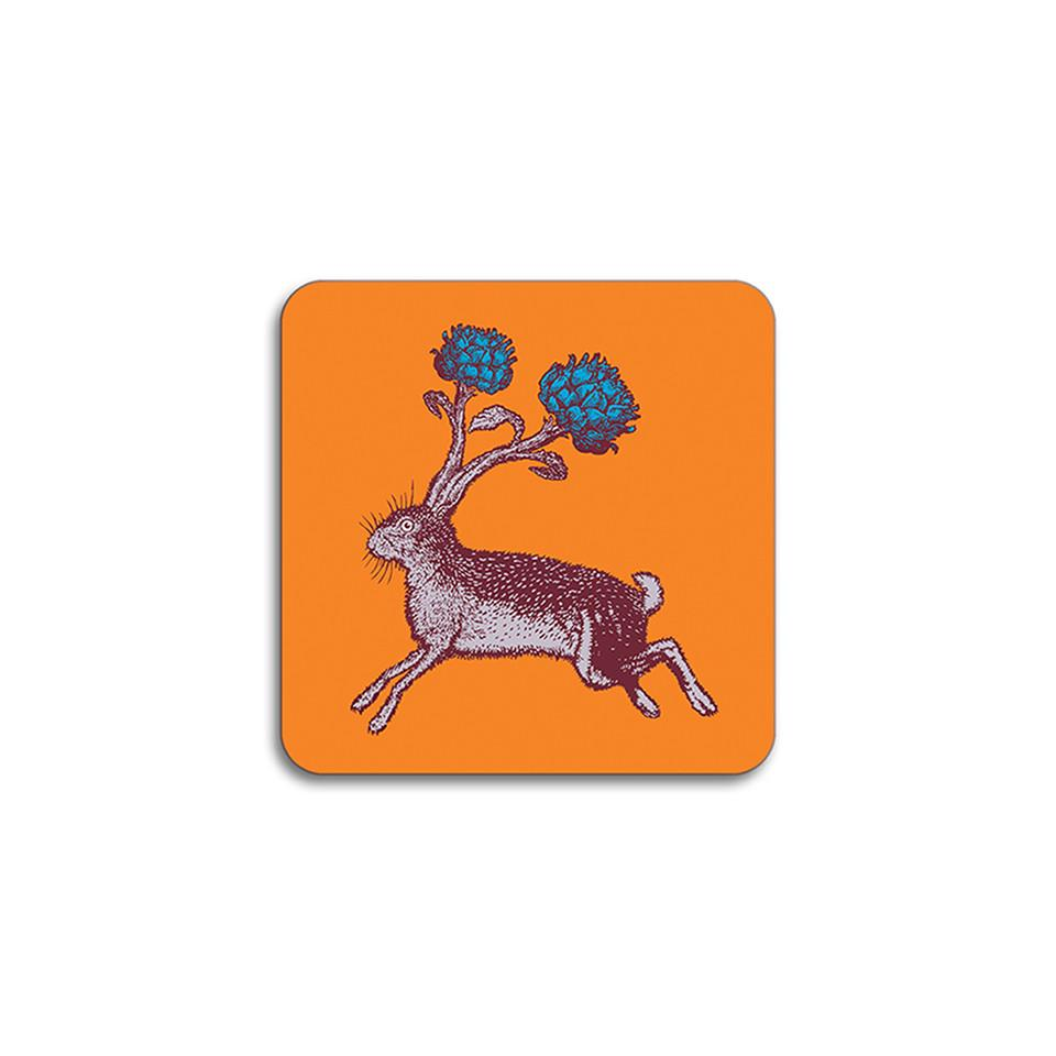 Puddin'head hare animal coaster.