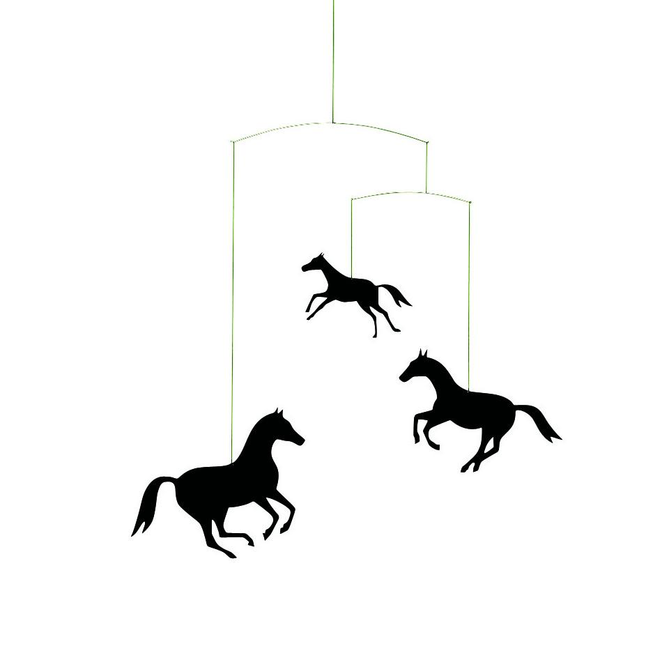 Flensted Horse (black) mobile.