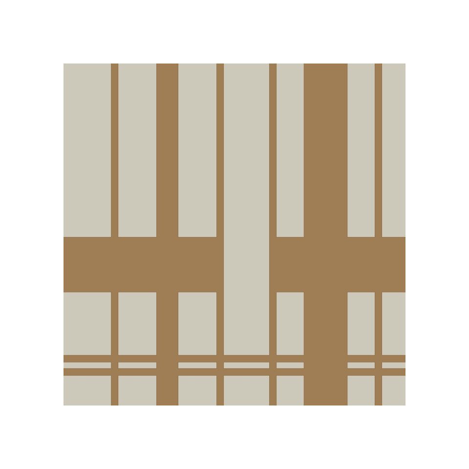 Kitt rustic brown paper napkins, pack of 20.