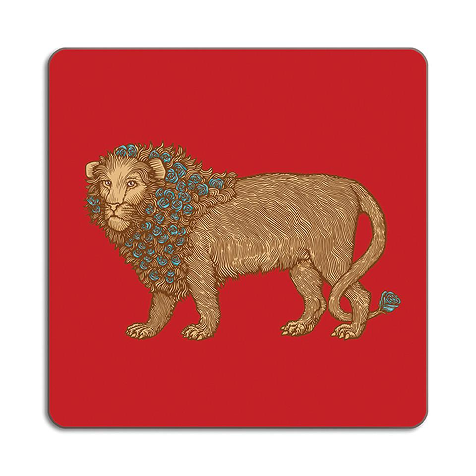 Puddin'head lion animal placemat.