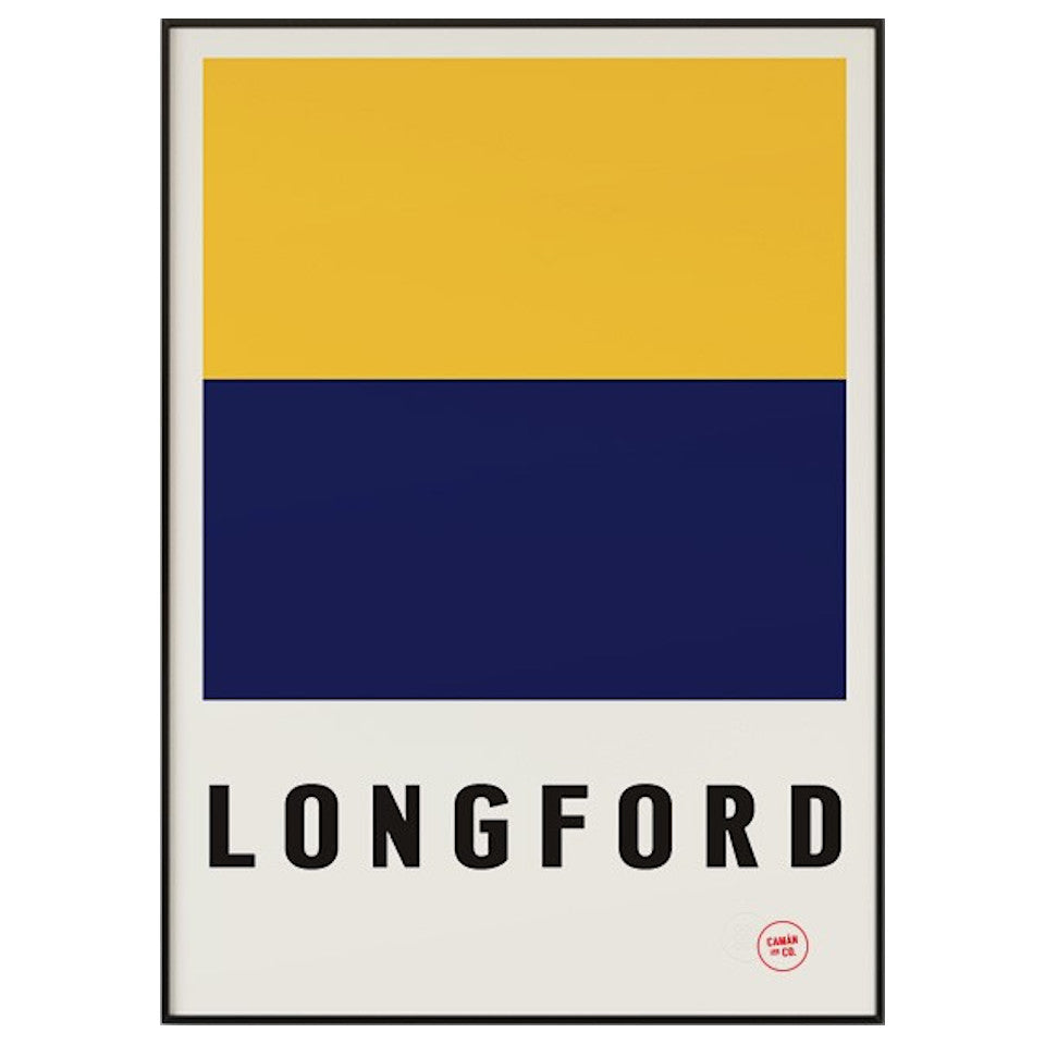 Longford County Series 50 cm x 70 cm print.