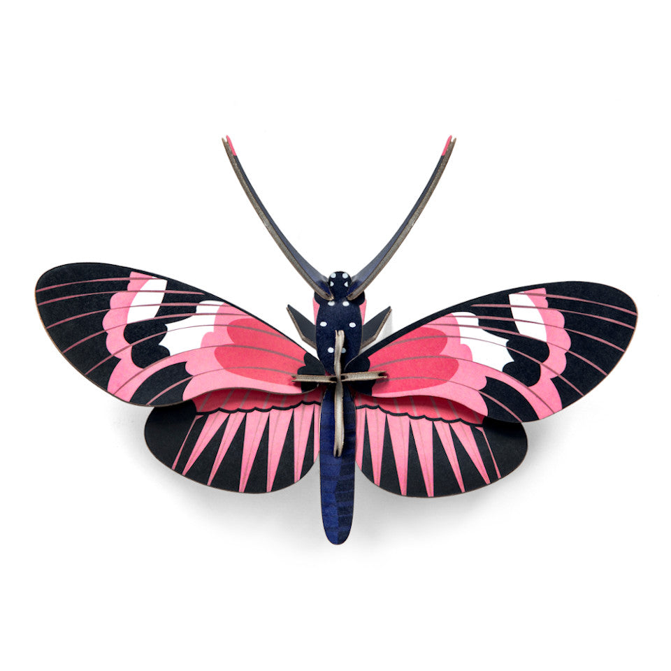 Longwing butterfly 3D decorative wall object.