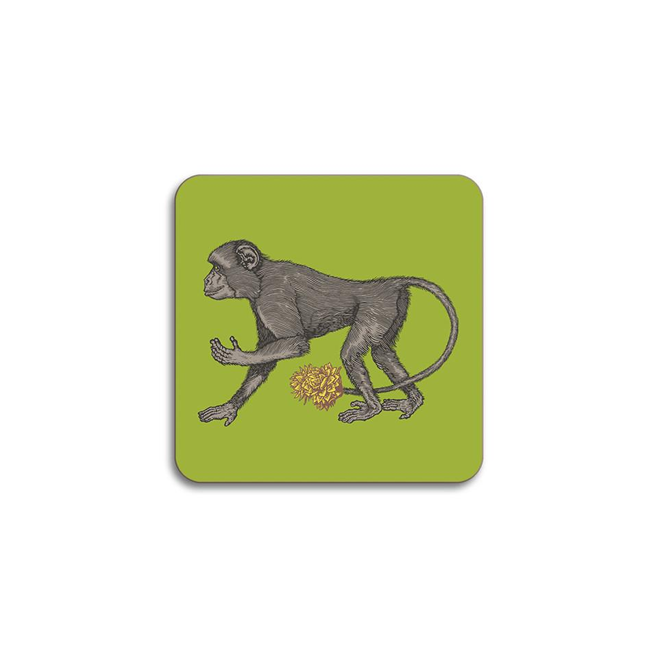 Puddin'head monkey animal coaster.