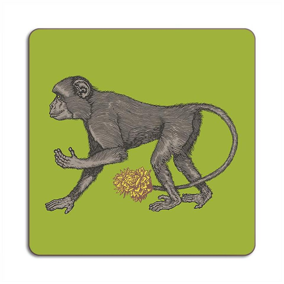 Puddin'head monkey animal placemat.