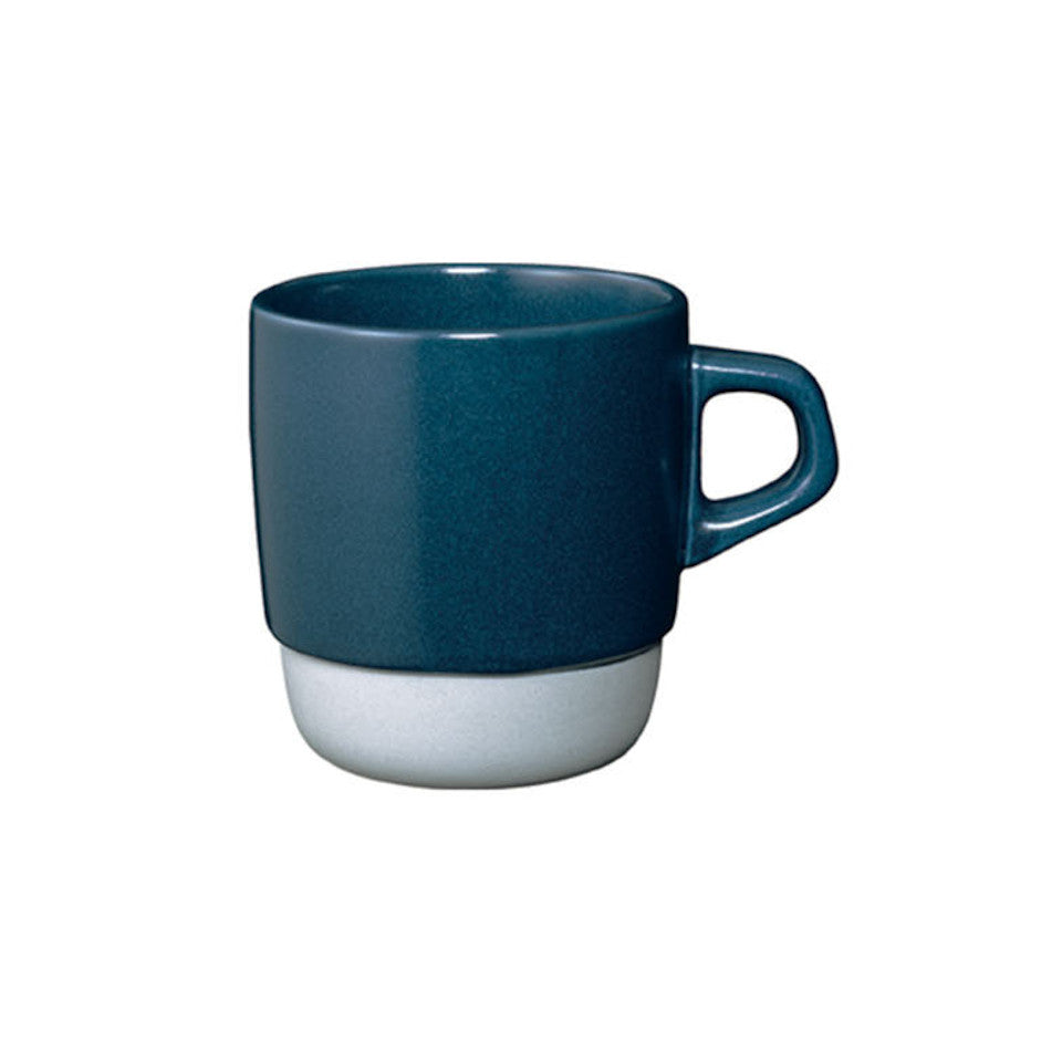 SCS stacking mug, navy.