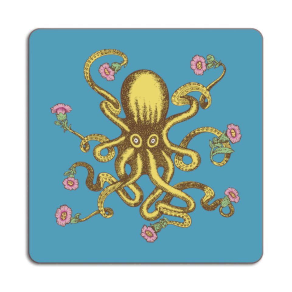 Puddin'head octopus animal placemat.