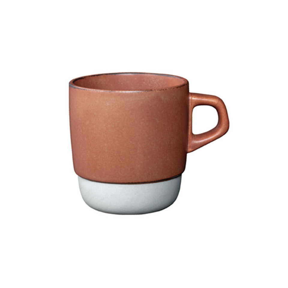 SCS stacking mug, orange.