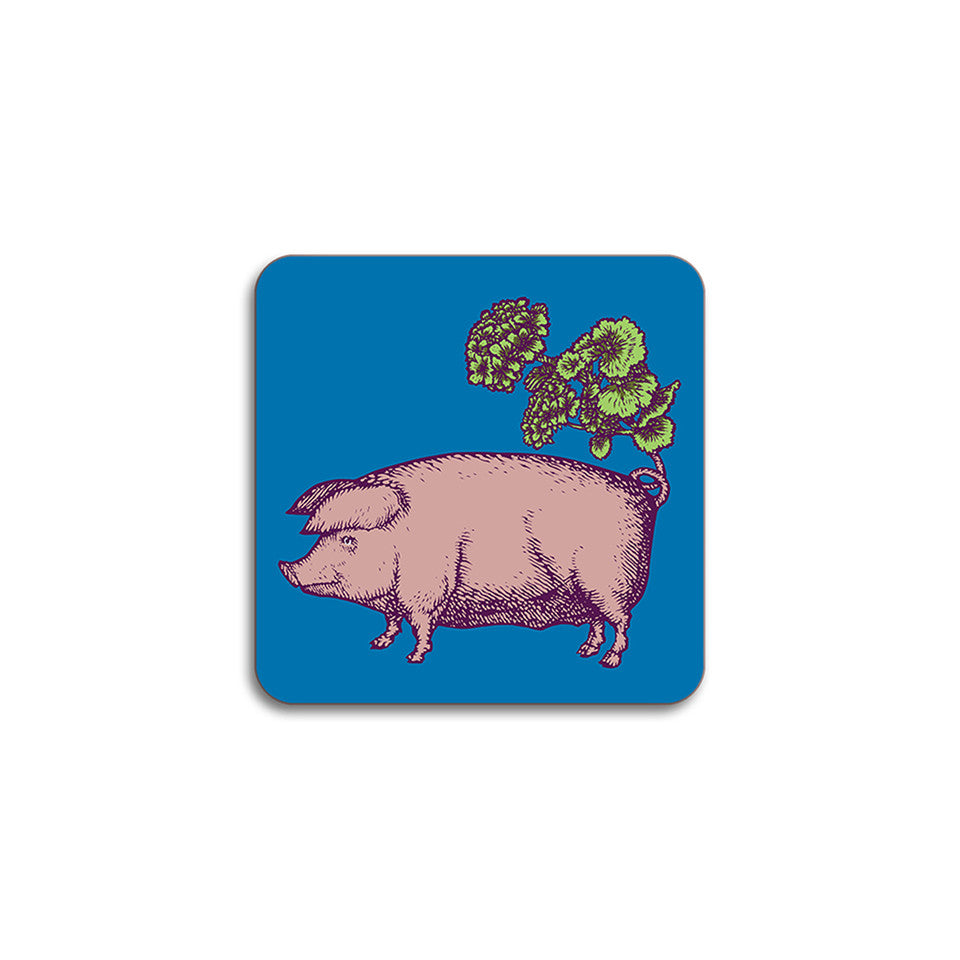 Puddin'head pig animal coaster.
