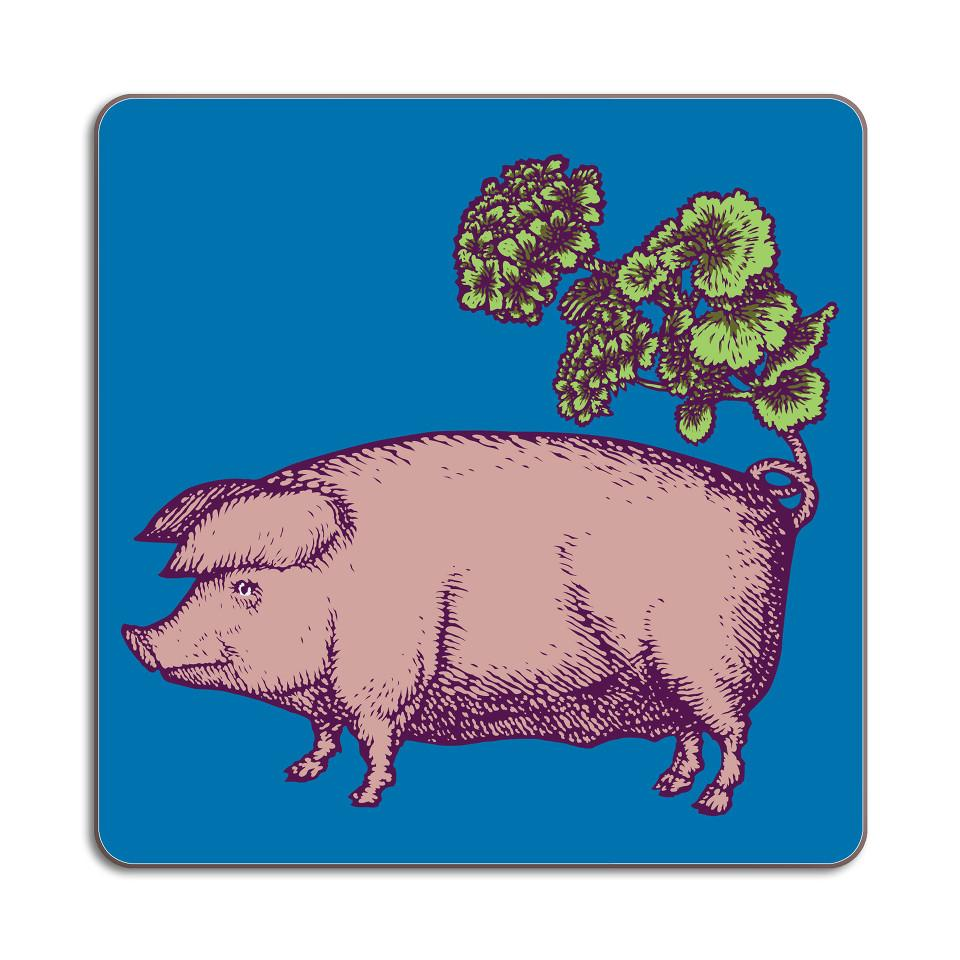 Puddin'head pig animal placemat.