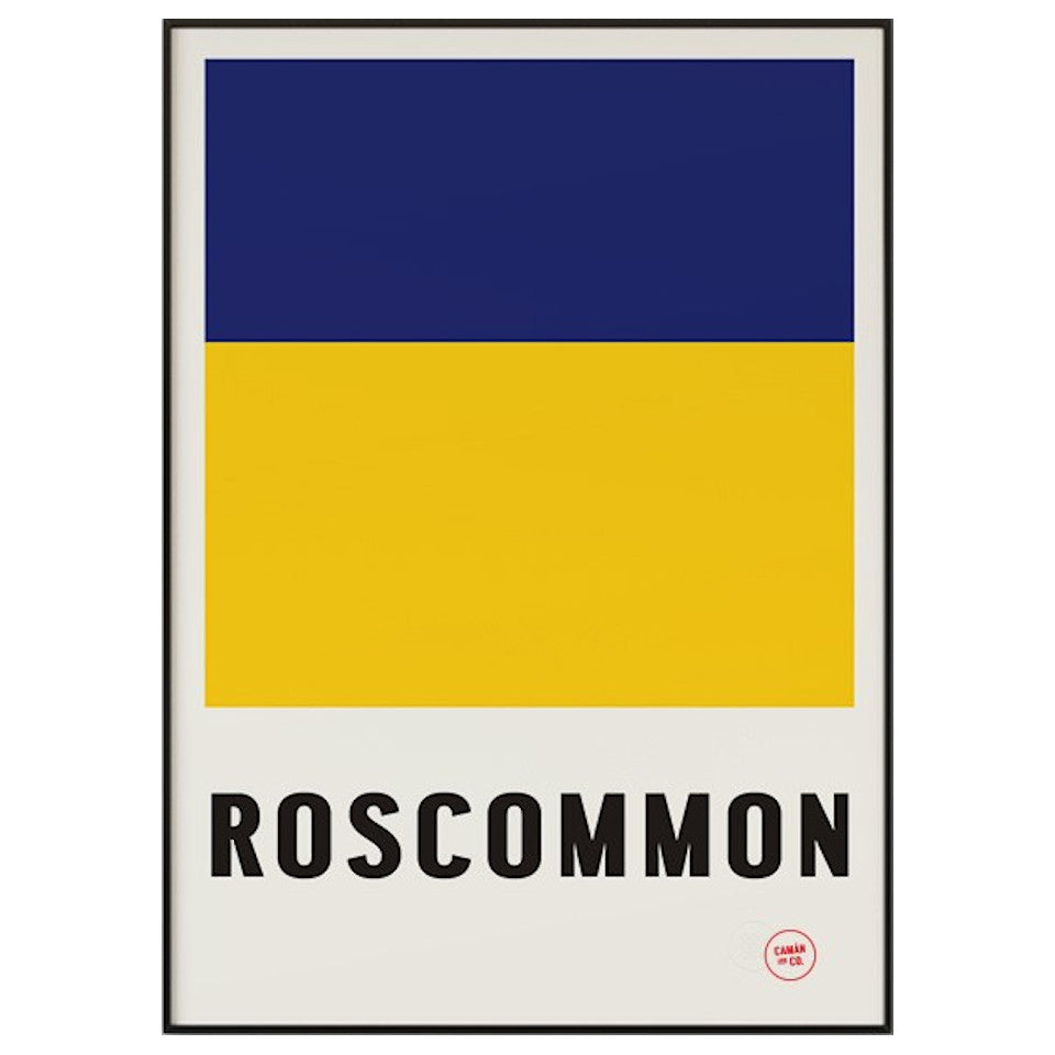 Roscommon County Series 50 cm x 70 cm print.