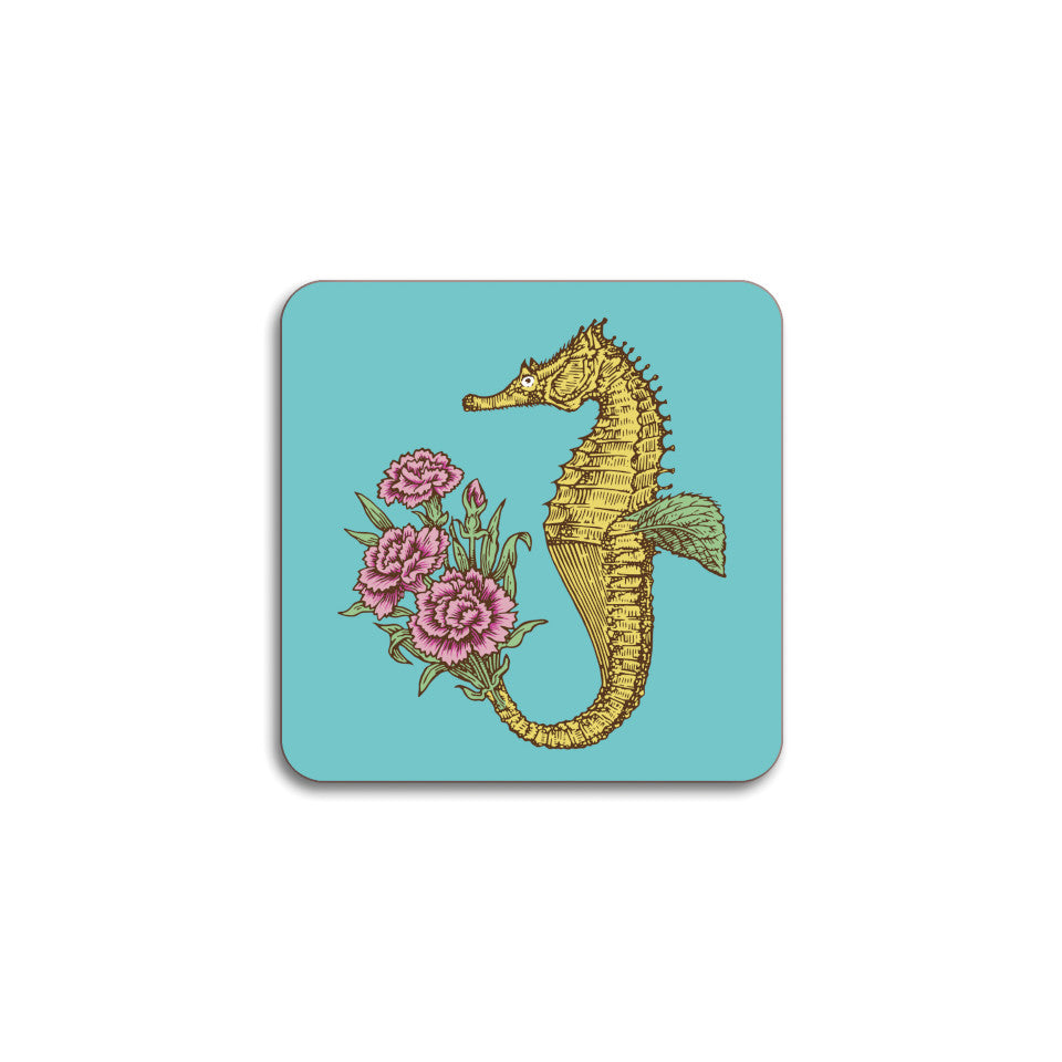 Puddin'head seahorse animal coaster.