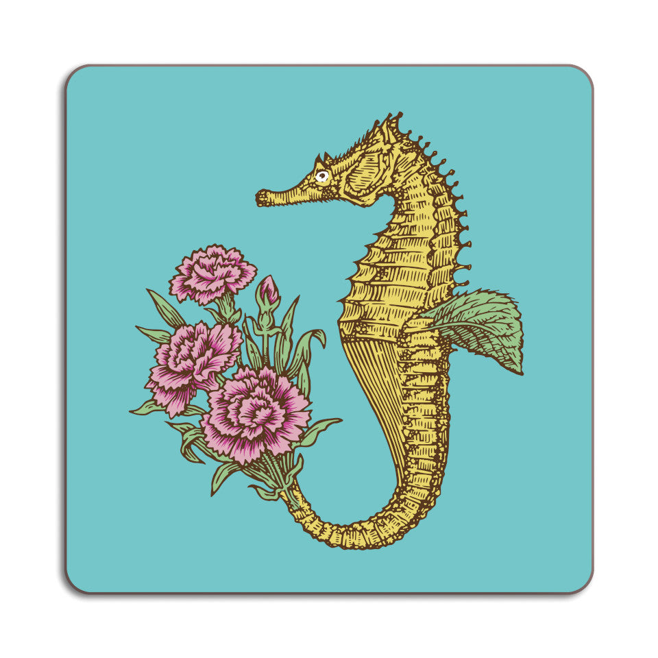 Puddin'head seahorse animal placemat.