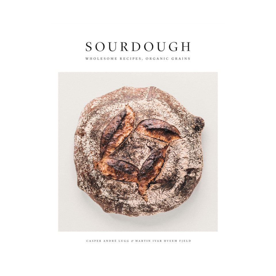 Sourdough bread cookbook.