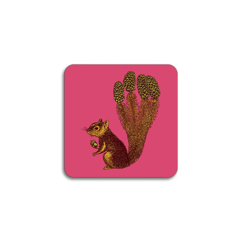 Puddin'head squirrel animal coaster.