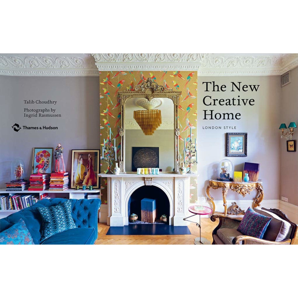 The New Creative Home (London style) interiors book, page detail.