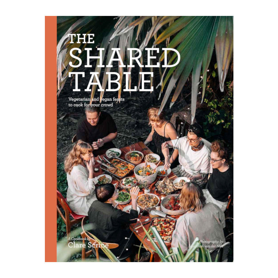 The Shared Table vegetarian and vegan lifestyle and cookbook.